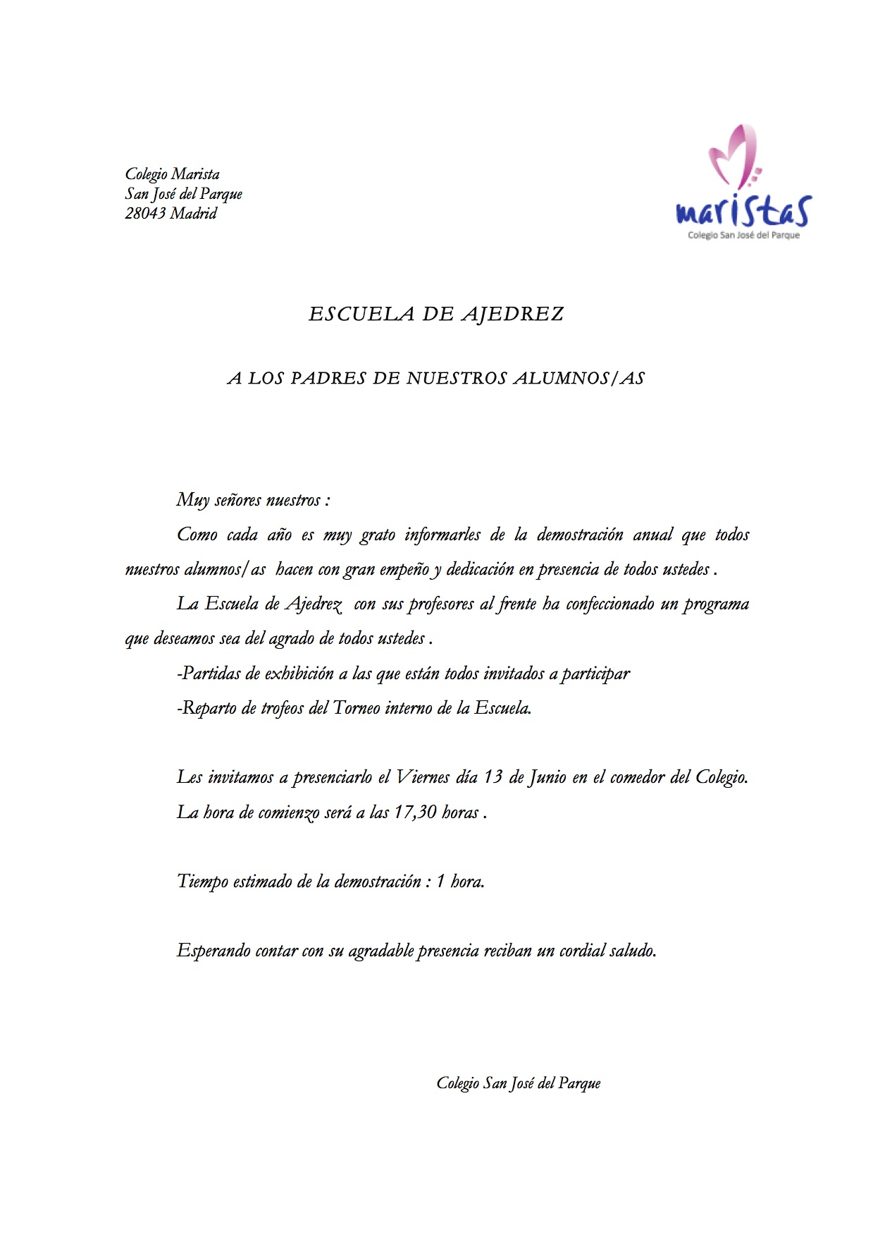 Ajedrez- Demostración fin de curso 13-14.doc
