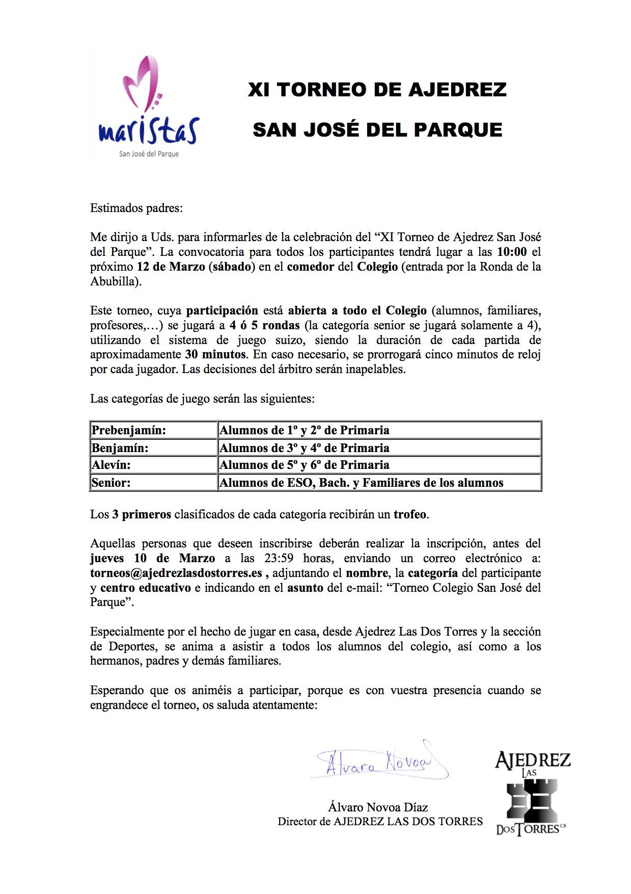 XI TORNEO SAN JOSE DEL PARQUE.doc