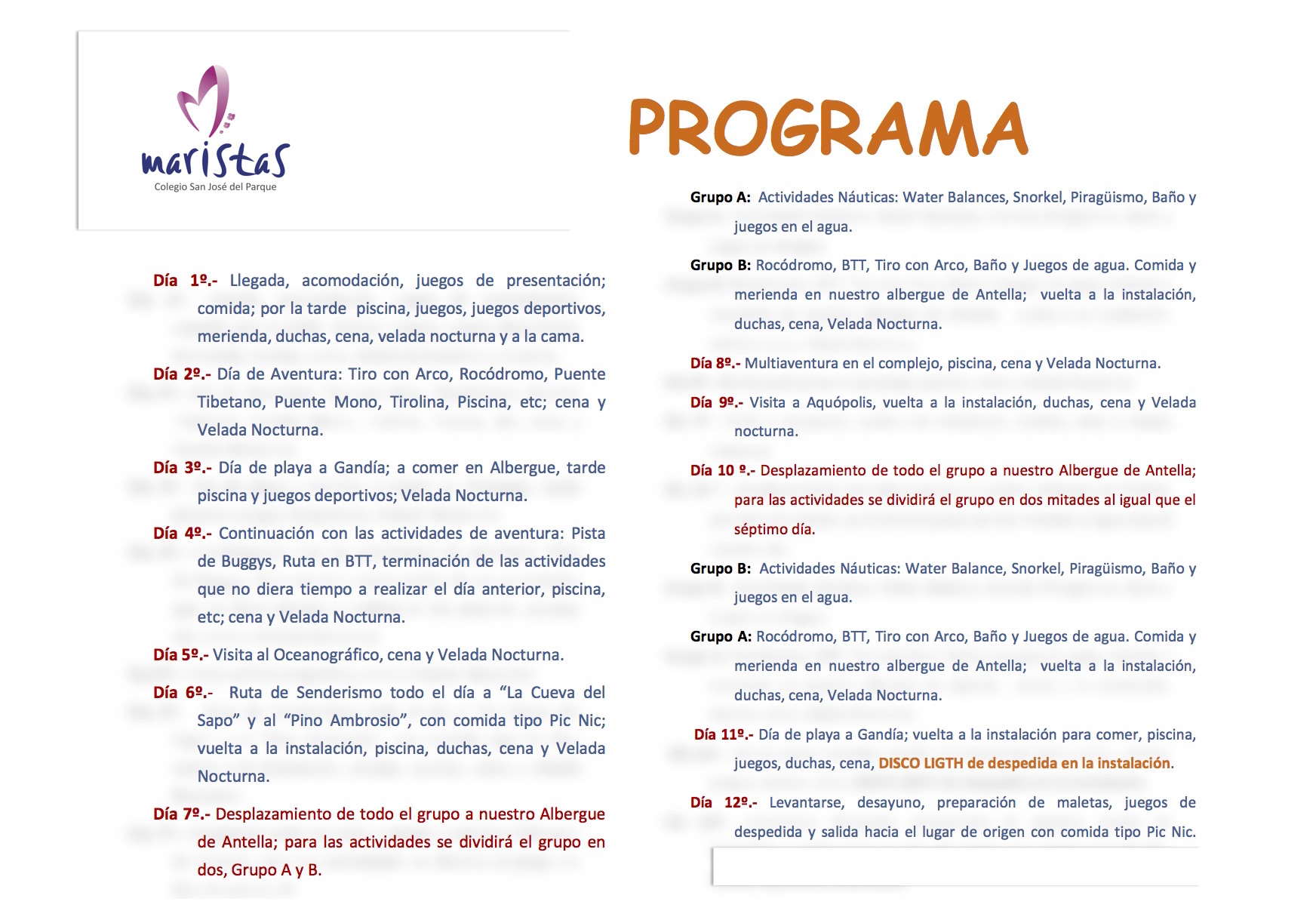 Programa Entrenaranjos